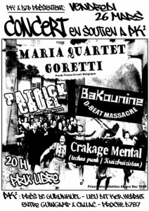 Concert de soutien à PK2